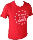 1 x VINTAGEVANTAGE - PLAYER OF THE GAME SHIRT