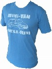 4 x VINTAGEVANTAGE - MINI VAN SHIRT