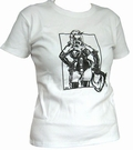 Domina - White - Girl Shirt