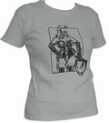 1 x DOMINA - GREY - GIRL SHIRT