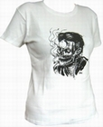 1 x SMOKE KILLS - WHITE - GIRL SHIRT