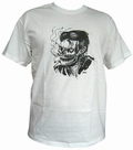 2 x SMOKE KILLS - WHITE - MEN SHIRT