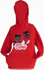 1 x EMILY THE STRANGE - STOP CRYING PULLOVER HOODY
