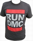 2 x AMPLIFIED - RUN DMC ORIGINAL LOGO SHIRT - MEN
