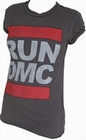 2 x AMPLIFIED - RUN DMC SHIRT ORIGINAL LOGO - GIRL