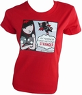 1 x EMILY THE STRANGE - GETTING STRANGER SHIRT