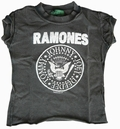 1 x AMPLIFIED - KIDS SHIRT - RAMONES - CHARCOAL