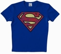 1 x LOGOSHIRT - SUPERMAN SHIRT -  LOGO