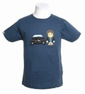1 x TOONSTAR SHIRT - NIGHT DRIVER - DENIM