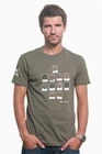 2 x FUSSBALL SHIRT - MENS FC MOUSTACHE T-SHIRT