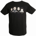 2 x TOONSTAR - SCARY FAMILY - SHIRT - BLACK