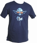 1 x STAR WARS SHIRT DJ YODA CHUNK - INDIGO