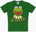 Kids Shirt - Muppets - Kermit Go Green - Grün