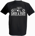 1 x KING KEROSIN - LOUD & FAST - SHIRT