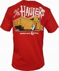 2 x DEPALMA - THE HAULERS - SHIRT - RED