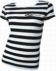 Voodoo Rhythm Stripes Girl-Shirt
