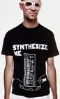1 x SYNTHESIZE ME - SHIRT - SCHWARZ