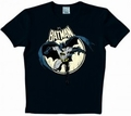 1 x BATMAN SHIRT - VOLLMOND - FULL MOON  - LOGOSHIRT
