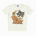 1 x LOGOSHIRT - TOM UND JERRY SHIRT