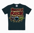1 x KIDS-SHIRT - SESAMTRASSE - MONSTERS OF ROCK