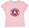 2 x LOGOSHIRT - BRENMARKE  - GIRL SHIRT  PINK