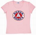 Logoshirt - Bärenmarke  - Girl Shirt  pink