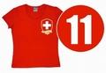 Logoshirt - Team Schweiz  - Girl Shirt