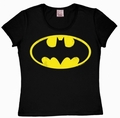 1 x LOGOSHIRT - BATMAN LOGO - GIRL SHIRT