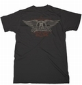 2 x AEROSMITH FADED WINGS - SHIRT