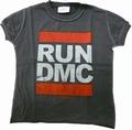 Amplified - Kids Shirt - RUN DMC - Charcoal
