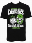 2 x MEXICAN WRESTLING SHIRT BLACK - MEN