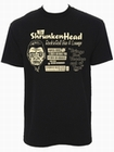 x THE SHRUNKEN HEAD SHIRT BLACK - MEN