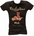 1 x MC VOODOOBEAT BLACK - GIRL SHIRT