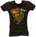 x TIKI DANCER BLACK - GIRL SHIRT