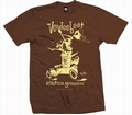 2 x EXOTICA GROOVIN HOT ROD -MEN SHIRT - BROWN