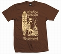 2 x EXOTICA GROOVIN HULA - MEN SHIRT - BROWN
