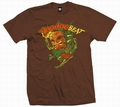 1 x TIKI DANCER - MEN SHIRT - BRAUN