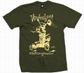 2 x EXOTICA GROOVIN HOT ROD -MEN SHIRT - OLIVE
