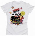 x BEATLES GIRL SHIRT - LOVE