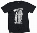 5 x WAKING THE DEAD - SHIRT - SCHWARZ
