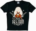 2 x LOGOSHIRT - LOONEY TUNES - SAY YOUR PRAYERS! SHIRT