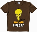 1 x LOGOSHIRT - LOONEY TUNES - TWEETY SHIRT