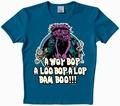 Logoshirt - Muppets - A Wop Bop Shirt Ozeanblau