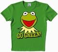 Logoshirt - Muppets - Kermit - Go Green Shirt Vintage