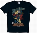 1 x LOGOSHIRT - SESAMSTRASSE - SUPER GROVER WORLDS GREATEST SHIRT