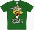 2 x KIDS SHIRT - LOONEY TUNES - ARRIBA! ANDALE! GR�N