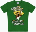 Kids Shirt - Looney Tunes - Arriba! Andale! Grün