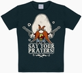1 x KIDS SHIRT - LOONEY TUNES - SAY YOUR PRAYERS