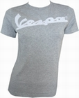 x VESPA GIRL SHIRT IN METALLBOX - GRAU