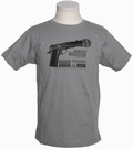 1 x DEPHECT - AUDIO WEAPON - SHIRT - CHARCOAL